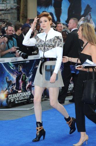 """Karen Gillan """"Les Gardiens de la Galaxie"""" Première à Londres le 24 juillet"""