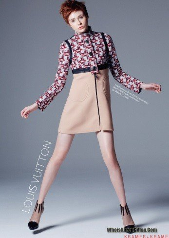 Karen Gillan UK InStyle Septembre 2014