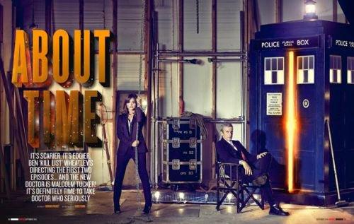 Jenna Coleman dans le Magazine Empire en septembre 2014