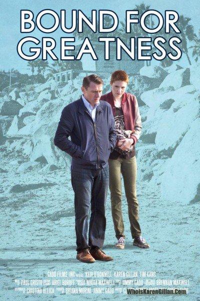 """Karen Gillan """"Bound For Greatness"""" Affiche"""