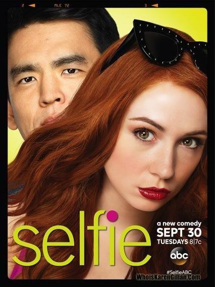 "Karen Gillan ""Selfie"" Nouvelle affiche"
