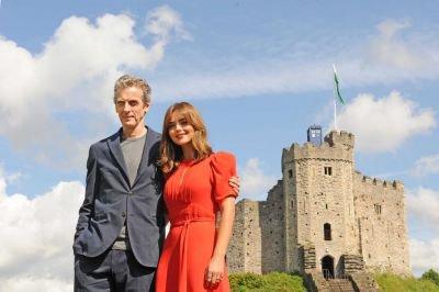 """Jenna Coleman à la tournée de """"Doctor Who"""" le 7 août à Cardiff"""