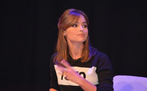 "Jenna Coleman ""Doctor Who"" Cardiff Première Q&A le 7 août"