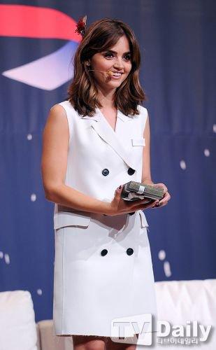 Jenna Coleman Première à Séoul Q&A le 9 août