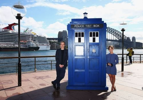Jenna Coleman Photocall à Sydney le 12 août