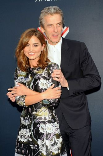 """Jenna Coleman à la tournée de """"Doctor Who"""" le 14 août à New York"""