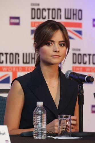 """Jenna Coleman à la tournée de """"Doctor Who"""" le 16 août à Mexico"""