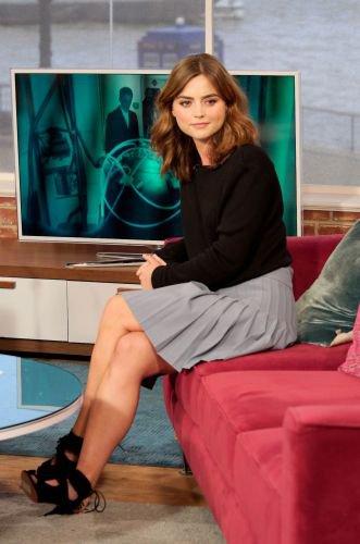 """Jenna Coleman au """"Today Show"""" à Londres le 22 août"""