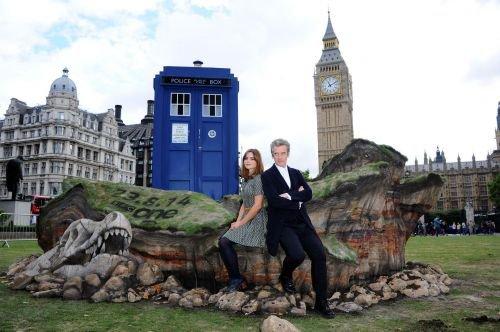 Jenna Coleman Photocall à Londres le 22 août
