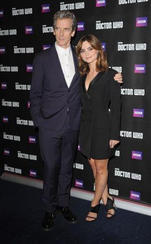 """Jenna Coleman à la tournée de """"Doctor Who"""" le 23 août à Londres"""