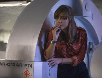 "Jenna Coleman ""Into the Dalek"" Stills"