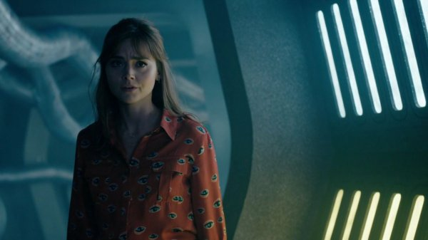 "Jenna Coleman ""Into the Dalek"" Screencaptures"