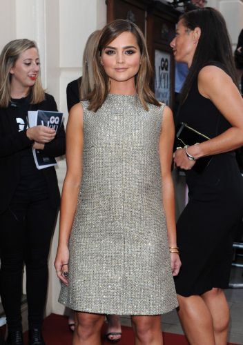 Jenna Coleman au GQ Men of The Years Awards 2014 le 2 septembre