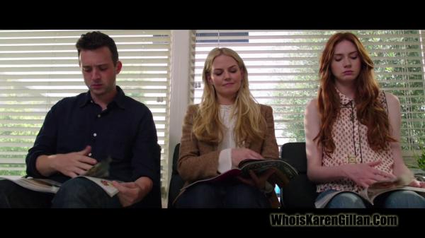 "Karen Gillan ""The List"" Trailer Screencaptures"