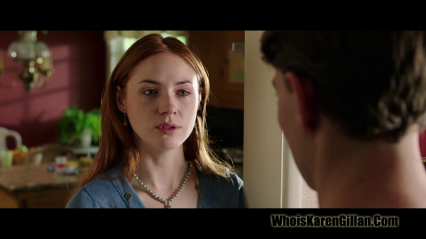"Karen Gillan ""The List"" Trailer Screencaptures"