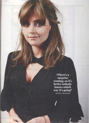 Jenna Coleman dans le Magazine Radio Times (13-19 septembre 2014)