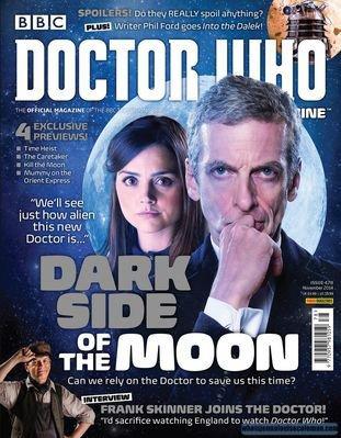 "Jenna Coleman dans le Magazine ""Doctor Who Magazine"" n°478"