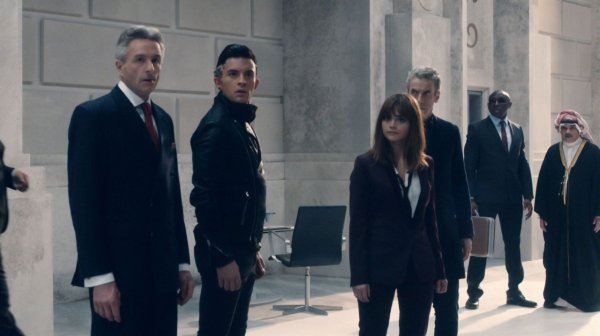 "Jenna Coleman ""Time Heist"" Screencaptures"