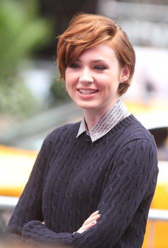 "Karen Gillan dans les studios de ""Good Morning America"" à New York le 29 septembre"
