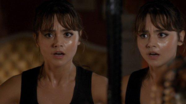 """Jenna Coleman """"The Caretaker"""" Screencaptures"""