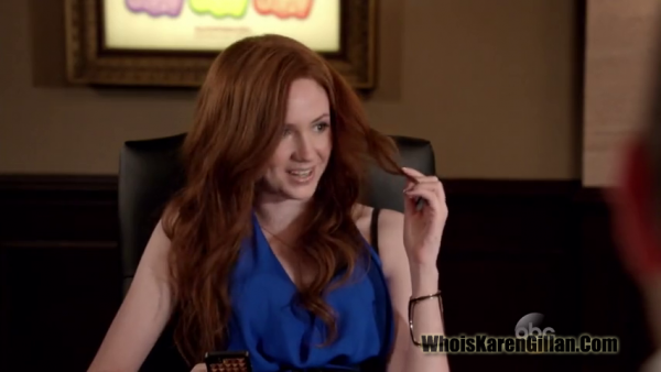 "Karen Gillan ""Selfie"" Episode 3 ""With A Little Yelp From My Friends"" Screencaptures"