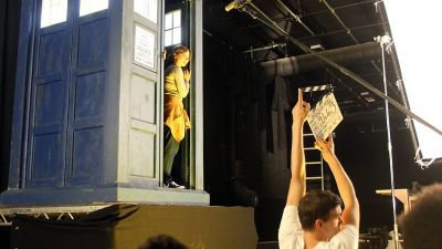 "Jenna Coleman ""Doctor Who"" Dans les coulisses"