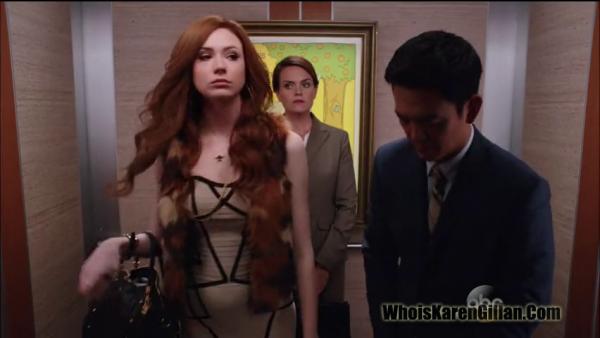 """Karen Gillan """"Selfie"""" Episode 4 """"Nugget Of Wisdom"""" Screencaptures"""