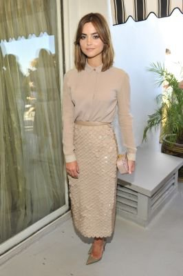 Jenna Coleman au Celebrating BAFTA Los Angeles And The Brittania Awards le 29 octobre