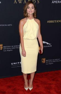 Jenna Coleman au BAFTA Los Angeles Jaguar Brittania Awards le 30 octobre