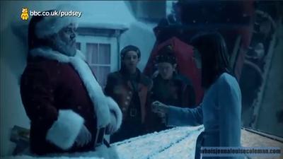"Jenna Coleman ""Last Christmas"" Clip Screencaptures"
