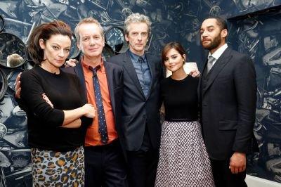 Jenna Coleman au Lancement du DVD de la saison 8 de Doctor Who le 17 novembre