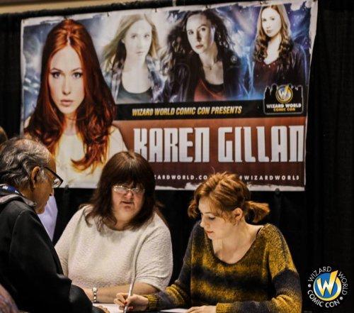 Karen Gillan au Reno Comic Con dans le Nevada le 24 novembre
