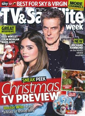 Jenna Coleman dans le Magazine TV and Satellite Week (29 novembre - 05 décembre 2014)