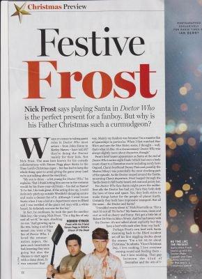Jenna Coleman dans le Magazine Radio Times (13-19 décembre 2014)