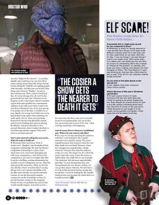 Jenna Coleman dans le Magazine SFX #256 (Février 2015)
