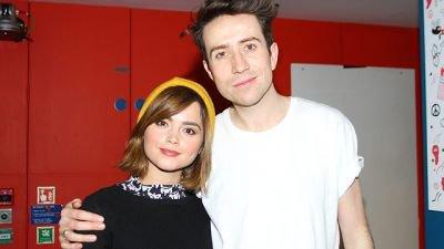 Jenna Coleman BBC Breakfast Show On BBC Radio 1 le 16 décembre