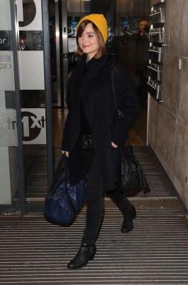 Jenna Coleman quittant la BBC Radio 1 le 16 décembre