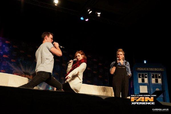 Karen Gillan au Salt Lake Comic Con le 30 janvier