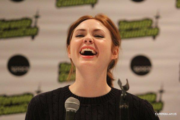 Karen Gillan à la Toronto Comic Con le 22 mars