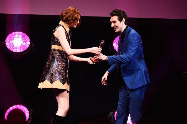 Karen Gillan aux Jameson Empire Awards le 29 mars 2015 à Londres