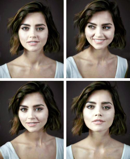 Jenna Coleman Nouvelle Image du Photoshoot par Andy Gotts datant de Novembre 2014