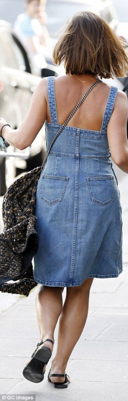 Jenna Coleman à Londres le 15 avril