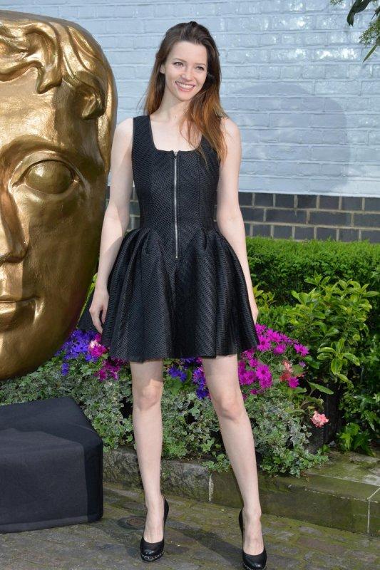 Talulah Riley aux BAFTA Craft Awards le 26 avril + une photo qu'elle a postée sur Twitter juste avant
