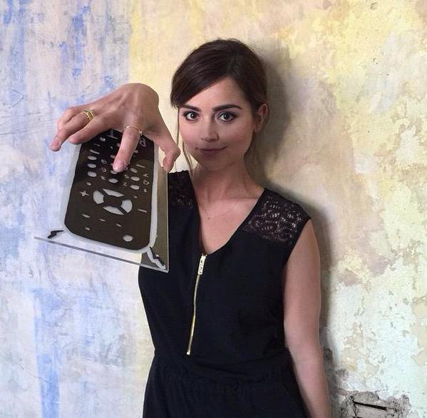 Jenna Coleman: Photoshoot des BAFTA Awards