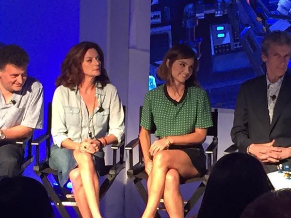 Jenna Coleman au Comic Con de San Diego Lego Dimensions Panel