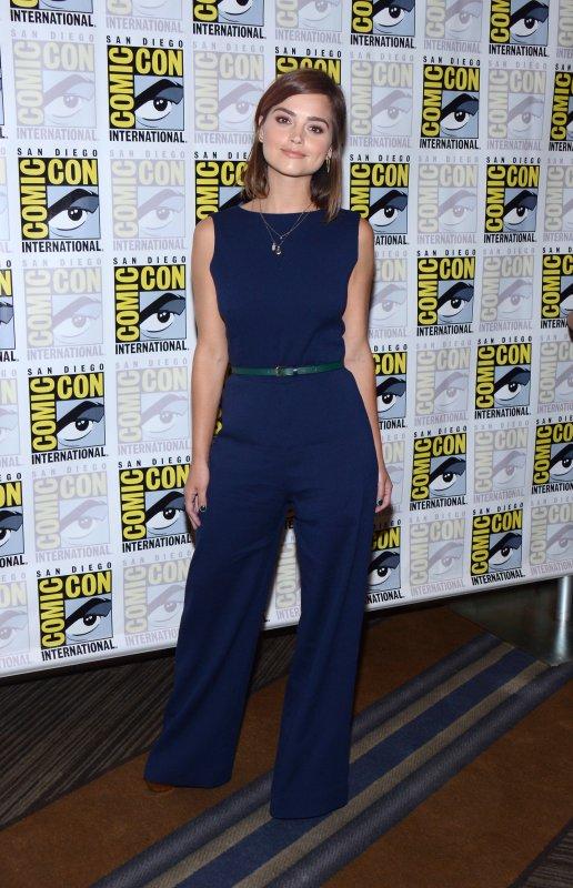 Jenna Coleman a participé à un Photocall lors du Comic Con de San Diego le 9 juillet 2015