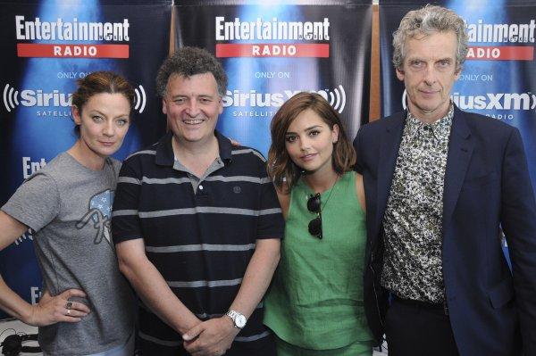 Jenna Coleman au SiriusXM's Entertainment Weekly Radio broadcast pendant le Comic Con de San Diego le 11 juillet 2015