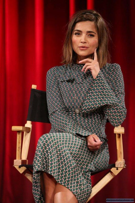 Jenna Coleman au Panel de Berlin le 17 juillet 2015