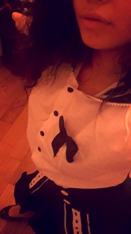 Mon uniforme japonais maggle!
