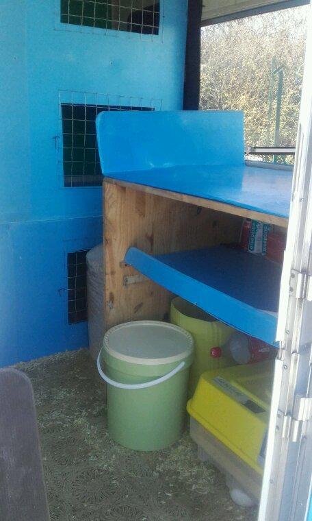14 cage de préparation et 2 voliere